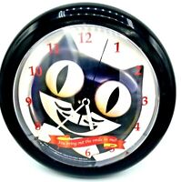 """Vintage 12"""" Round Smile Kit-Kat Wall Clock """"You Bring Out the Smile in Me"""""""