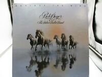 """Bob Seger & The Silver Bullet Band """"Against The Wind"""" LP 1980 SOO-12041 VG+"""