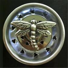 7835 Antique Pewter Dragonfly Kitchen Sink Strainer Stopper Billy Joe Homewares