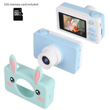Shockproof 12MP Children's Mini Camera with IPS 2 inch Screen 32G Memory Card