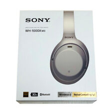 SONY Wireless Noise Canceling Headphone WH-1000XM3S Platinum Silver 2018 New