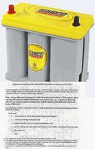 Optima 8171-767 Vehicle Battery, Prius  V, CT200h, Free ship to 50 states & terr