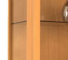 "VCM VCM Wall Cabinet ""vitrosa Mini"" Beech 906106"