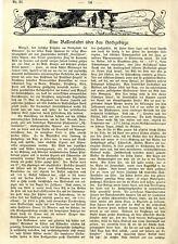 Alpen-Ballonfahrt Manzell Aeronaut.Kommission Prof.Hergesell Fahrtbericht 1901