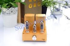 Small Mini Tube AMP Gold Audio Amplifier APPJ EL84 12AX7B (Original Miniwatt N3)
