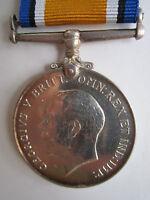 Canada WW1 British War Medal - PTE. L.W. Brady 43rd Canadian Infantry Batt.