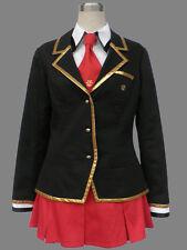 Baka to Test to Shoukanjuu Cosplay Costume Female Winter School Uniform Any Size