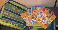 Leap frog Leappad system with case and 10 games/cartridges TESTED