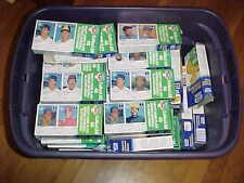 1986 Kraft Baseball Card  Unopened Full Box Lot (71) w/stars