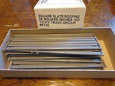 Tichy Train Group #8135 HO Slate Roofing Shingles (Unpainted Plastic)