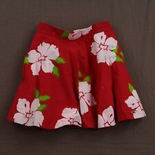 Hollister Womens Seascape Floral Skirt Smocked Waist Size S M L NWT