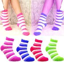 6 Paar Kuschelsocken Bettsocken Wintersocken Flauschige Füsslinge Damen Socken