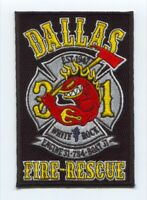 Dallas Fire Department Station 31 Patch Texas TX