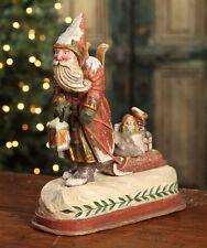 Bethany Lowe - Christmas - Santa Pulling Sled - PS2982