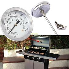 Barbecue Thermometer 0~300℃ Cooking BBQ Smoking Grill Smoker Pit Thermostat