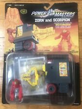 Vintage Lionel Power Masters Zorn And Scorpion Figure NOS 1987