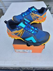 NEW! Merrell MQM Flex Cobalt Comfort Trail Running Men's Sneakers Size 9.5 $110