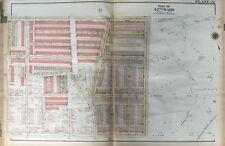 ORIG 1923 G.W. BROMLEY, PHILADELPHIA PA, OLNEY BAPTIST CHURCH, ATLAS PLAT MAP