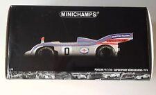 Minichamps Paul's Model Art Porsche 917/20 SUPERSPRINT NURBURGRING 1974 1:18 NIB
