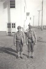 WWII Original Large US Army RP- Two Soldiers- WWI Style Helmet- Gasmask- Kit