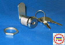 "Cabinet Lock/Coin Door Lock, 7/8"" Single Bitted - Bally, Gottlieb, Williams more"