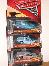 Disney Pixar Cars 3 Set~Sally Tattoo,Primer McQueen,Nitro Ramone Lot of 3
