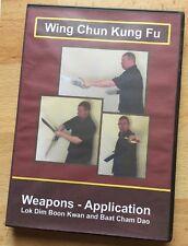 Wing Chun Kung Fu - Weapons - Application Dvd Hd 1080 - Martial Arts - Mma