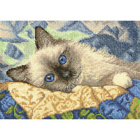 "Dimensions Gold Petite Counted Cross Stitch Kit 7""X5""-Charming (18 Count)"