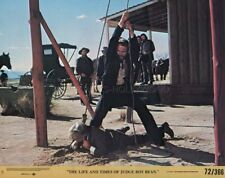 THE LIFE AND TIMES OF JUDGE ROY BEAN 1972 VINTAGE LOBBY CARD #5