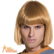 Blonde He-man Wig Adult Mens Smiffys Licensed Fancy Dress Costume