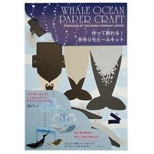 Whale Ocean Paper Craft