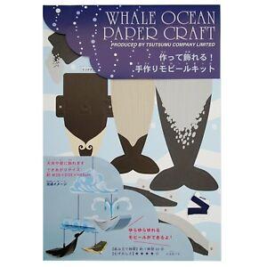 Whale Ocean Paper Craft