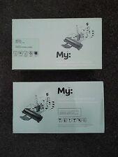 2 X Black Toner Cartridges CLP-610 CLP-660 ND CLX-6240FX CLX-6200ND CLX-6210FX