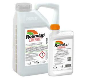 ROUNDUP® 360 Plus Unkrautvernichter Unkrautfrei 1-5-20L