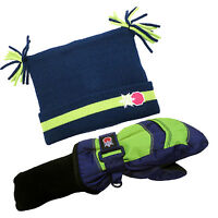 SnowStoppers Mittens & Jester Hat Set for Infants/Toddlers 1 - 3 Years Old