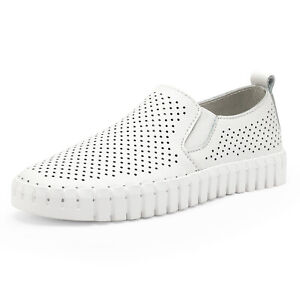 Boys Girls Big Kids Classic Loafer Slip On Comfort Breathable Casual Shoes