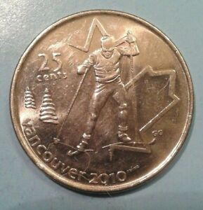 Canada 25 Cents coin 2009