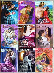 9 x HISTORICAL GOLD Liebesromane - Cora Verlag
