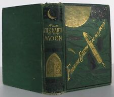 JULES VERNE From the Earth to the Moon FIRST U.S. EDITION FIRST STATE