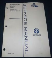 New Holland 9030 Tractor Electrical System Service Shop Repair Manual Book
