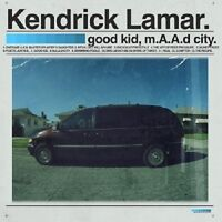 KENDRICK LAMAR - GOOD KID,M.A.A.D CITY (DELUXE EDITION)  2 CD  HIPHOP/RAP  NEU