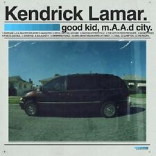 Kendrick Lamar-Good Kid, M.A.A.D City (Deluxe Edition) 2 CD HIPHOP/rap NEUF