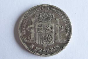 Espagne 5 Pesetas 1871 SDM