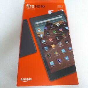 Amazon Fire HD 10 (9th Generation) 64GB, Wi-Fi, 10.1in - Black