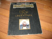 AD&D D&D Forgotten Realms The Drow of the Underdark