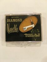 Transcriber Diamond Needle/Stylus #142 For VARCO # TN-8 New(others available)