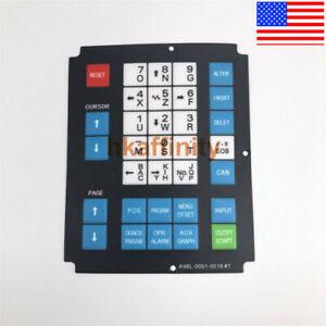A98L-0001-0518#T Fanuc Membrane Keysheet Keypad Keyboard A98L00010518T