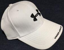 Under Armour Men's Heatgear Basic White Golf Cap Size Medium