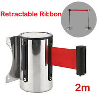 Authorised Access Only Red Retractable Security Belt/Barrier Door Warning Sign