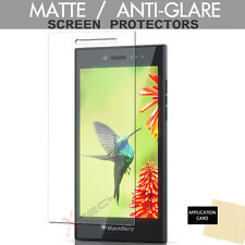 3 Pack ANTI GLARE MATTE LCD Screen Protector Guards for Blackberry Leap